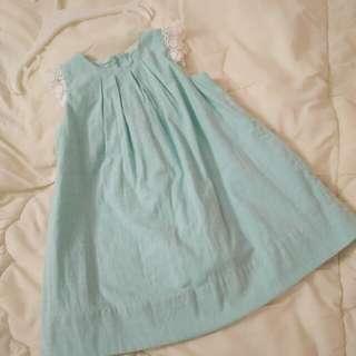 Baby Poney Turquoise Dress #Bajet20