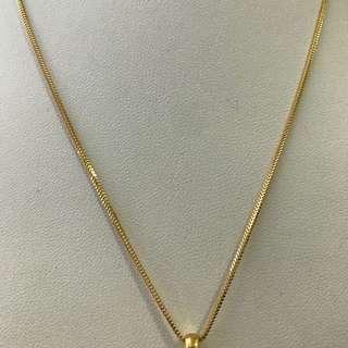 916 Yellow Gold Chain - N002