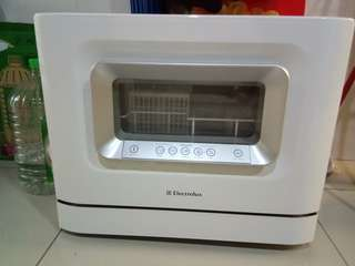 Electrolux small dish washer