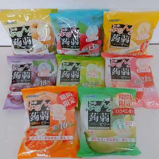 現貨來了!ORIHIRO擠壓式蒟蒻果凍 低卡蒟蒻果凍 單口味6入