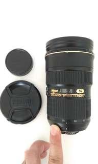 Nikon 24-70mm f2.8 ED