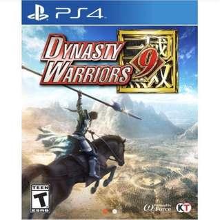 SALE: BNIB Dynasty Warriors 9 PS4 R3