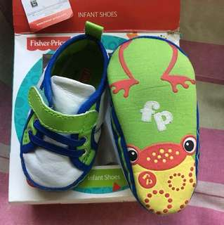 Fisher Price Baby Boy Shoes 6-12M