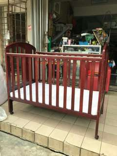 Baby Cot 2in1