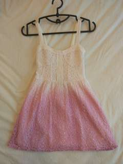 Ombre Pink Dress