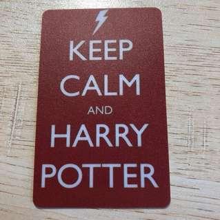 Harry Potter Ezlink card sticker