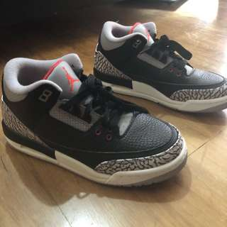 Air Jordan 3 OG Retro Black Cement (2018)