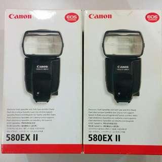 Canon 580 EX-II