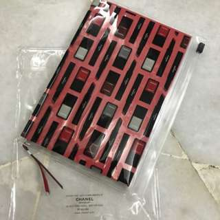 Chanel note book with folder