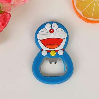 Doraemon Bottle opener and Ref Magnet