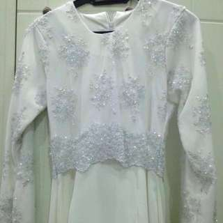 REDUCED PRICE Off white Wedding Dress