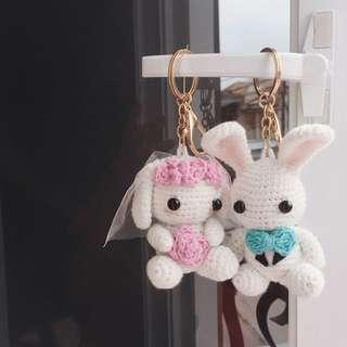 Couple bunny amigurumi