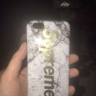 iPhone 6 supreme marble case