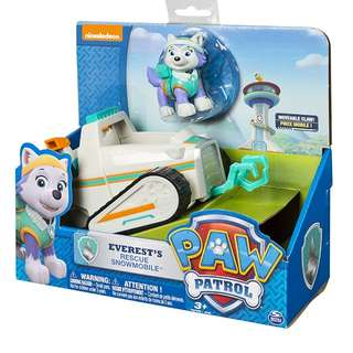 [PRE-ORDER] Paw Patrol Everest's Rescue Snowmobile, Vehicle and Figure