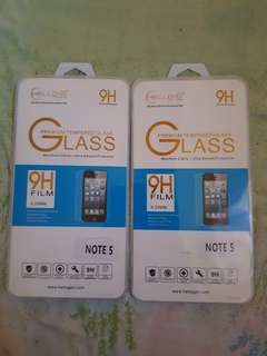 Note 5 Tempered Glass (Clear)