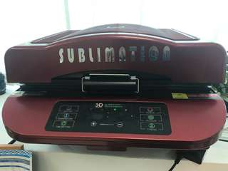 Sublimation printer and vacuum oven