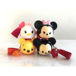 Daisy mickey minnie Tsum tsum keychain charms