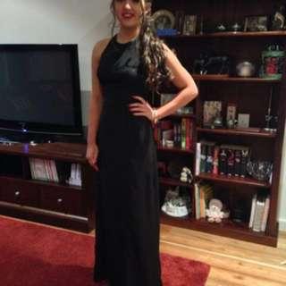 Backless formal dress size s Keepsake the label