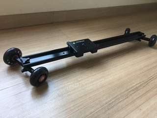 Slider dolly with wheels ( 60 cm )