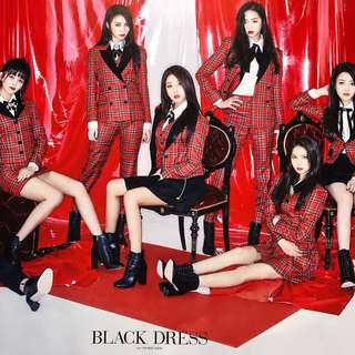 CLC : Black Dress ~ Official Poster