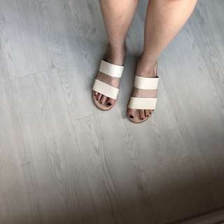 zalora slip on sandals