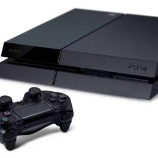 WTS- PS4 + 2 games