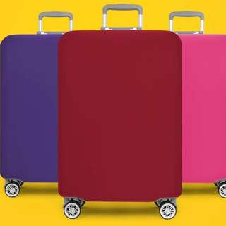 Stretchable luggage protector
