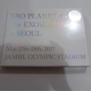 ON HAND SEALED EXO PLANET 3 - THE EXO'RDIUM[DOT] 2CD + PHOTOBOOK