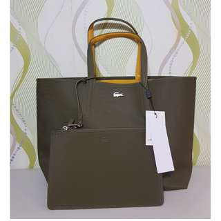 LACOSTE IRREVERSIBLE TOTE
