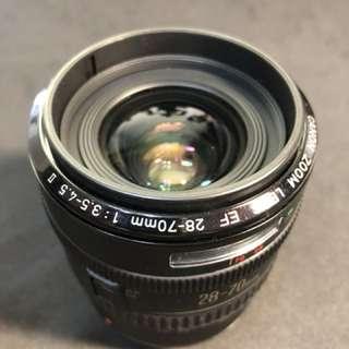 Canon EF 28-70 隨身鏡頭
