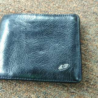 Valentino franchini leather wallet