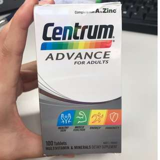 Centrum Advance for Adults MultiVitamins
