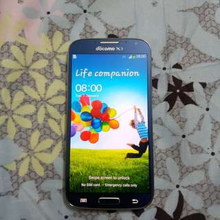 Samsung Galaxy S4 blue 32gb