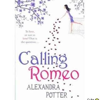 Alexandra Potter BESTSELLER NOVEL: CALLING ROMEO