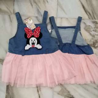 Baby Girl Dress Mickey