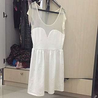White Dress by Bamboo Blonde