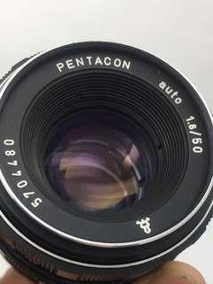 Pentacon Auto 50mm F1.8