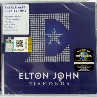 IMPORTED CD ELTON JOHN Greatest Hits Diamonds 2CD