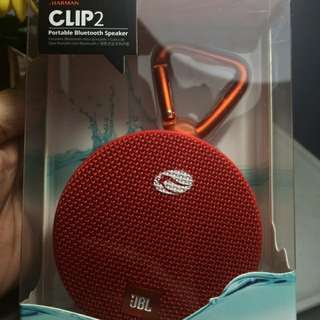 JBL Clip 2 water resistant bluetooth speaker