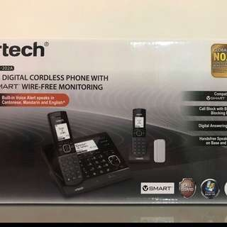 Vtech cordless twin phone