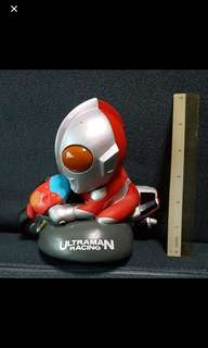 Rare Antique Authentic Moveable Ultraman Biker 🚴‍♀️ Coin Bank