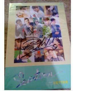 ON HAND SEALED SIGNED SEVENTEEN - FIRST LOVE & LETTER (LETTER VER)