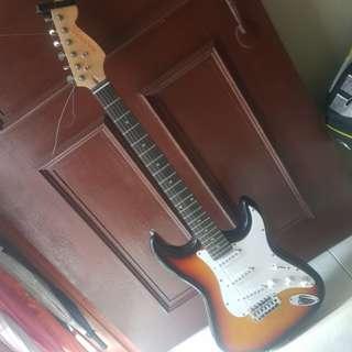 Brandless Electric Guitar