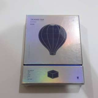ON HAND SEALED 2017 BTS TRILOGY EPISODE III THE WINGS TOUR IN SEOUL BLURAY