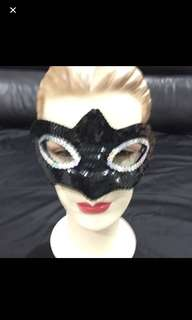 < CATZ > Sequin Face Mask Party Face Mask