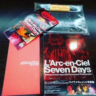 Larc~en~Ciel Shibuya 7 Days Photographs Document