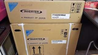 [全新未開箱]大金DAIKIN冷暖變頻1匹分體冷氣機