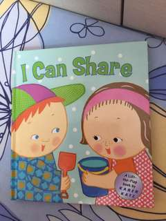 Board book flip the flap by Karen Katz : I can share