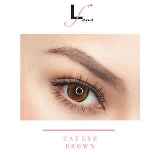 Authentic Lofalens (Cat Eye Brown)