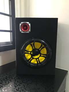 Active Sub Woofer suitable for home n car used